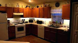 inspiring led strip under cabinet lighting kitchen lights countertop i32 lighting
