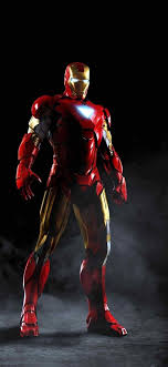 Black Iron Man Hd Wallpaper For Mobile ...