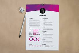 Web Designer Resume Template Psd Download Psd