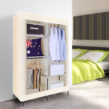 Item 2 Large Space Storage Portable Bedroom Double Wardrobe Stable Easy  Assemble  Large Space Storage Portable Bedroom Double Wardrobe Stable Easy  Assemble