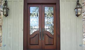 glass double front door. Exterior Double Doors Wood And Glass Entry Country French Door . Front
