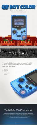 Kong Feng Gb Boy Classic Colour Handheld Game Console With Backlit