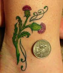 46 best Tatueringsinspiration images on Pinterest   Botanical art ... & Floral tattoo. Very little black. Makes tattoo softer looking and more  colorful. Adamdwight.com
