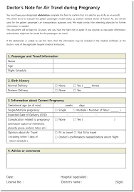 Sample Doctors Note For Surgery Medical History Form Certificate For Surgery Sample Example