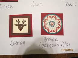 Christmas Wall Art Stamp Pattys December 2012