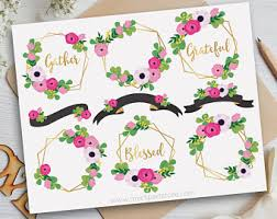 Decorate your photos for xmas: Premium Vector Clipart Illustrations Digital By Myclipartstore