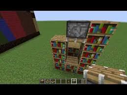 How to Make a Working Bookshelf Updated Minecraft Blog