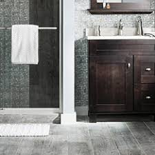 Gray Tile Horizontal  Contemporary  Bathroom  Columbus  By Bathroom Tile Colors