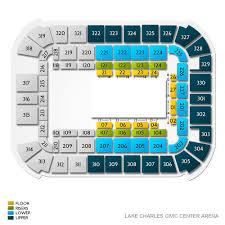 Lake Charles Civic Center Arena Seating Chart Disney On Ice Dream Big Lake Charles Tickets 5 2 2020 11