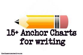 Anchor Charts For Writing Writing Anchor Chart Ideas