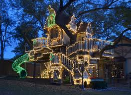 A Magical Tree House Lights Up for Christmas Eclectic Kids