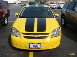 2008 Rally Yellow Chevrolet Cobalt Special Edition Coupe #3796498 ...