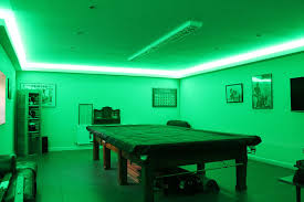 games room lighting. They Can Provide Strong Ambient-colour Lighting, And They\u0027re Powerful Enough To Create Extreme Wall-washes, Rather Than The Halo Effect Produced By Games Room Lighting