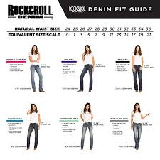 Rock N Roll Jeans Size Chart Rock Roll Cowgirl Extra Stretch Boyfriend Multi Color Seam Jeans