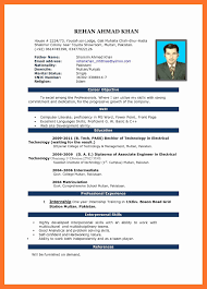 Free Download Teacher Resume Format Resume In Ms Word Format Free Download RESUME 73