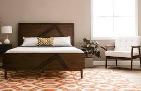 mid century modern bedroom. Mid-Century Modern Bedroom Essentials. Platform Bed Mid Century M