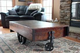 factory cart coffee table factory cart coffee table uk