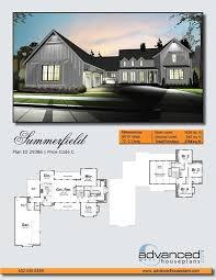 modern farmhouse floor plans plan 62544dj modern 4 bed