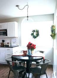 kitchen table chandelier rustic chandeliers height over lighting