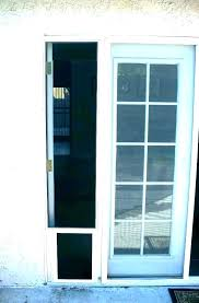 larson screen door installation pet door storm doors with screen and glass dog installation