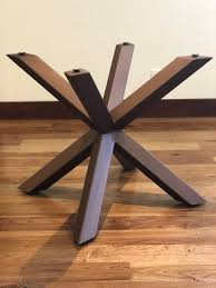 mid century modern dining pedestal