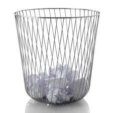 unique 10 waste paper baskets design inspiration of alessi a tempo waste paper basket alessi