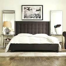 Full Image for Wonderful Inspire Q Marion Dark Gray Linen Nailhead Wingback  Tufted King Sized Platform ...