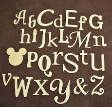 wooden alphabet letters nursery decor