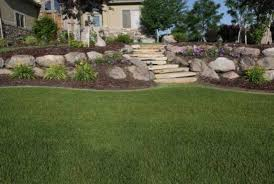 Image result for Landscaping With Boulders istock