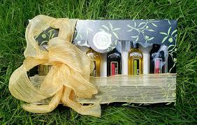gourmet olive oil gift set