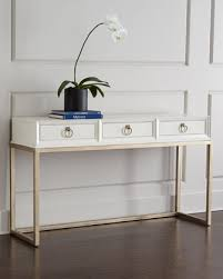 white console table with drawer. White And Gold Console Table With Drawers Drawer
