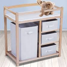 ... Compact Baby Nappy Changing Station Table Drawers Unit Storage In  Compact Baby Changing Table ...
