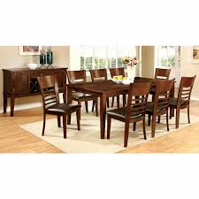 furniture of america dining sets. Furniture Of America Brown Cherry Nadia 78-inch Dining Table Sets