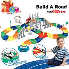 Train Track,Car Race Tracks for Boys,Build A Road Toy,Flexible Best Gifts 2 Year Old Boys (February, 2019 Guide)