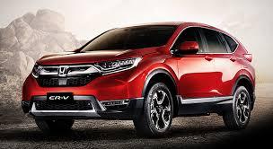 Honda CRV Berwarna Metah