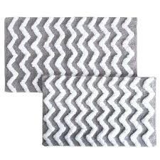 chevron bathroom rug chevron silver in x in 2 piece bathroom mat set chevron bath rug