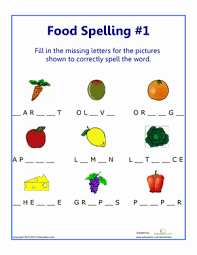 # not suitable for all phones. Food Spelling 1 Spelling Worksheets Words To Spell Grade Spelling