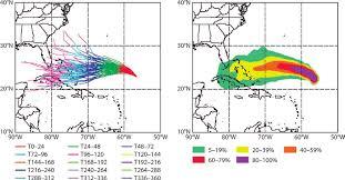 Ecmwf Forecast Charts Multimodel Ensemble Forecast Tracks Left And Strike