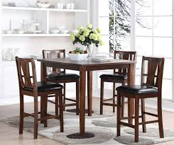 trestle dining table pedestal dining table counter height dining set with storage pub style table and chairs