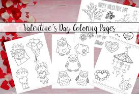There is a variety of reason why coloring pages are produced. Have Fun With Free Printable Valentine S Day Coloring Pages