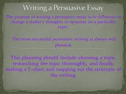 writing a persuasive essay ppt  writing a persuasive essay