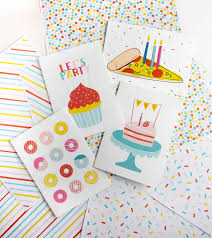 Learn colors in a fun way with these printable flashcards for kids teach colors in multiple ways with these versatile color flashcards. 4 Free Birthday Cards To Print Design Eat Repeat