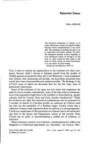 rebuttal essay international journal of the sociology of language about the article