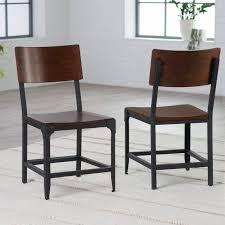 Dining Room Metal Farmhouse Chairs Black Metal Chairs Metal