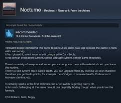 Deceit Steam Charts Remnant From The Ashes As Told By Steam Reviews