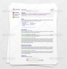 Search Engine Resume GraphicRiver