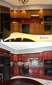 Cherry Kitchen Cabinet Doors 175 Best Images About Kitchen Transformations On Pinterest