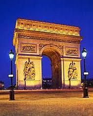 Франция туры в францию франция туры реферат франция города франции Триумфальная арка Франция