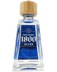 1800 tequila silver miniatures 10pk 50ml