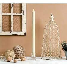 white luminara candles 1 in w x in h classic taper 1 white no scent white outdoor white luminara candles